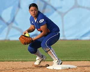 Covering 2nd base with second baseman in fastpitch softball may be best coverage method