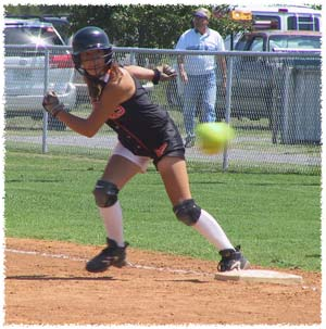 Fastpitch Softball baserunning tips when to run and when to hold