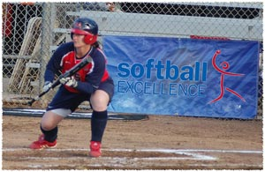 Softball Tips on bunting - proper position in the batters box when bunting
