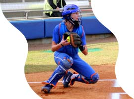 Fastpitch Softball Free Article on Catching - tips to help catchers throw faster