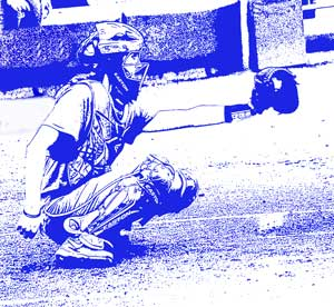 Fastpitch Softball Free Article on Catching - tips to help catchers get more low pitches