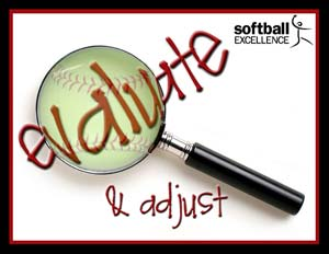 Fastpitch Softball Free Article on hitting and pitching - 2 drills to help your players learn to adjust