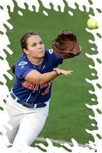Fastpitch Softball Free Article fielding - tips for fielding flyballs toward foul line