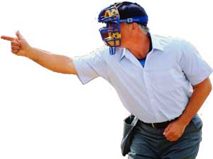 Fastpitch Softball Free Article on coaching and playing respect the umpires